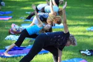 Yoga at Manresa Jesuit Retreat Center