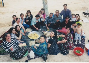 My trip to Iraq in 2000 where I celebrated Easter with my relatives