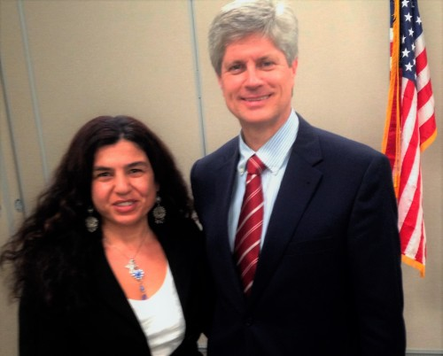 With Congressman Jeffrey Fortenberry