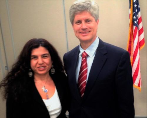 With Congressman Jeffrey Fortenberry